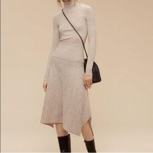 🆕 Aritzia Wilfred rochaix skirt knit wool